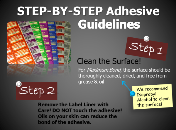 Adhesive Label Guidelines